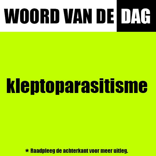 kleptoparasitisme
