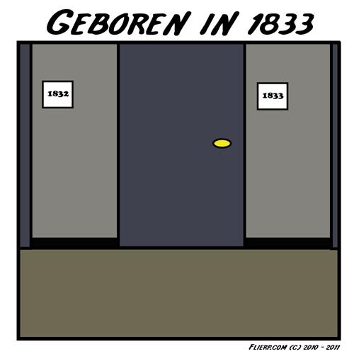 Geboren in 1833