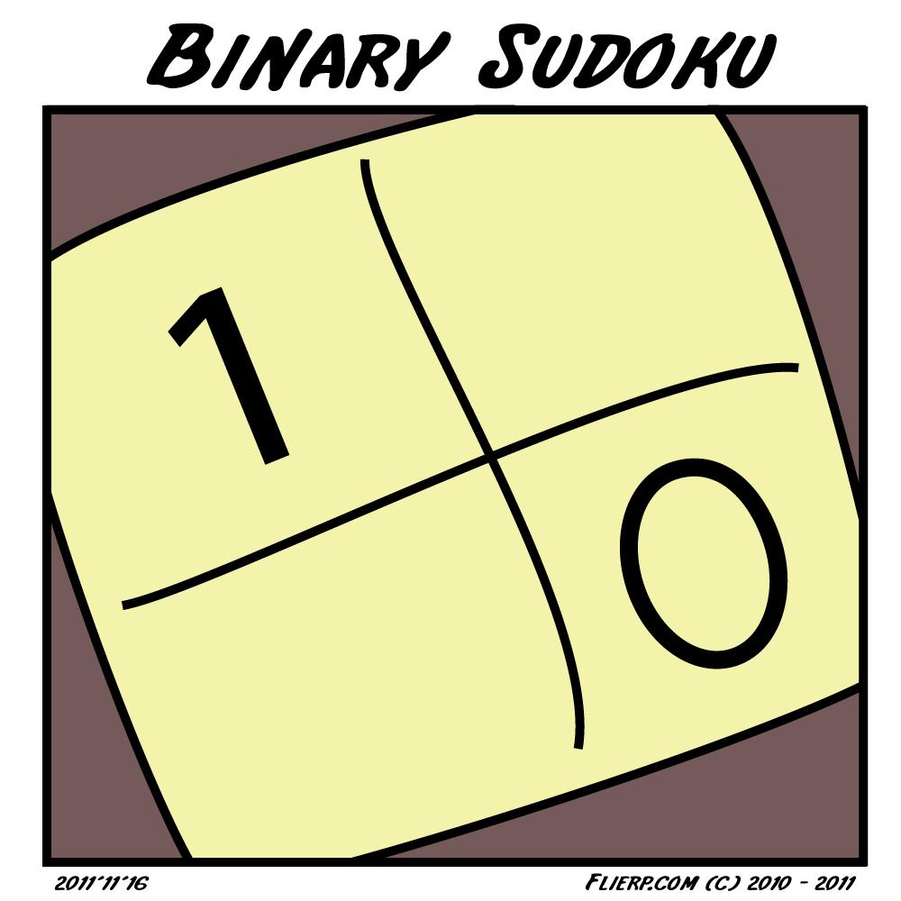 Binair sudoku