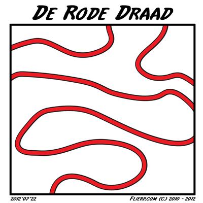 De rode draad