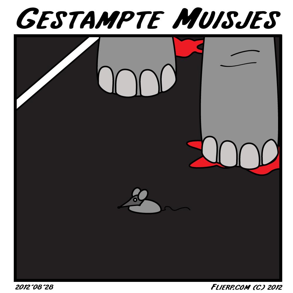 Gestampte muisjes