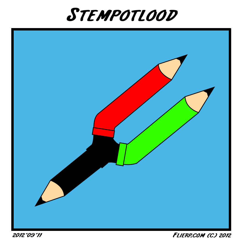 Stempotlood